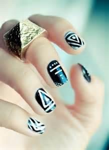 Simple nail art designs for short nails