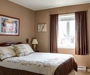 Orange Double Curtains For Bedroom Window