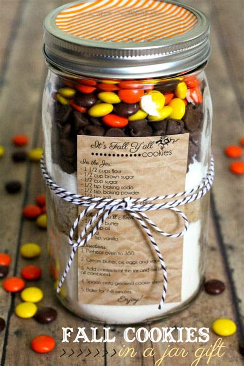 mason jar baking recipe gifts
