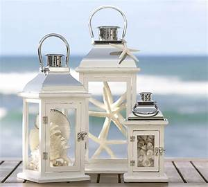 Beach Decorating with Lanterns - Create a cozy atmoshphere