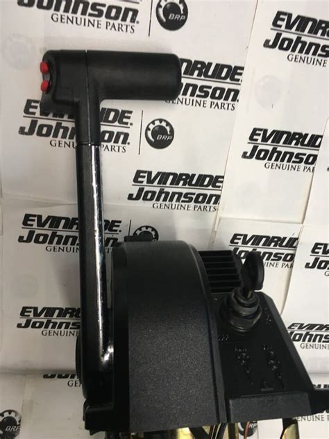 evinrude johnson genuine remote control omc binnacle top