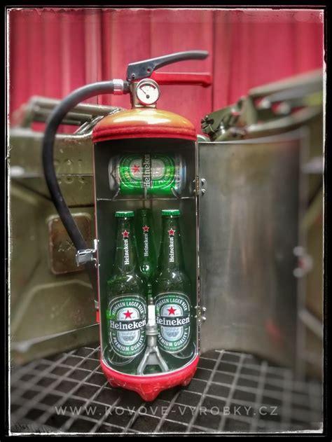 fire extinguisher minibar heineken jerry  bar  roce