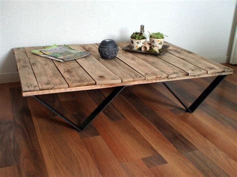 comment fabriquer une table basse en bois fabriquer une table basse en palette bois toutes les 233