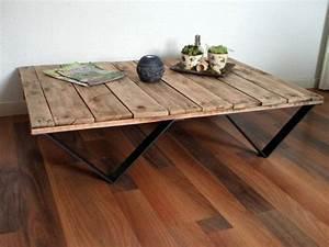 Fabriquer Une Table Basse En Palette : fabriquer une table basse en palette bois toutes les tapes ~ Melissatoandfro.com Idées de Décoration