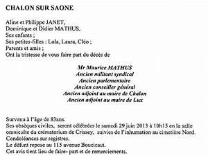 Avis De Deces Aisne : avis de d c s montceau news l 39 information de montceau ~ Dailycaller-alerts.com Idées de Décoration