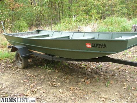Bowfishing Boats For Sale In Oklahoma by Armslist For Sale Trade 16 7048 Flatbottom
