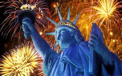 July 4th Fireworks Liberty Statue Wallpapers Wallpapersafari