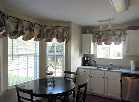 sheer white curtain panels the ideas of kitchen bay window treatments theydesign