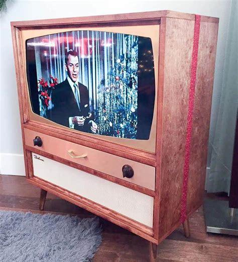 jeff builds  midcentury modern tv cabinet   flat screen tv retro renovation