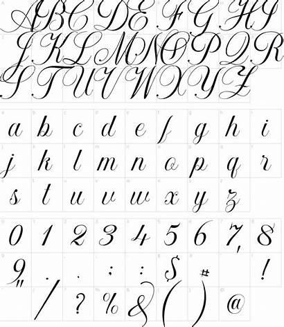 Font Calligraphy Fonts Khatija Characters