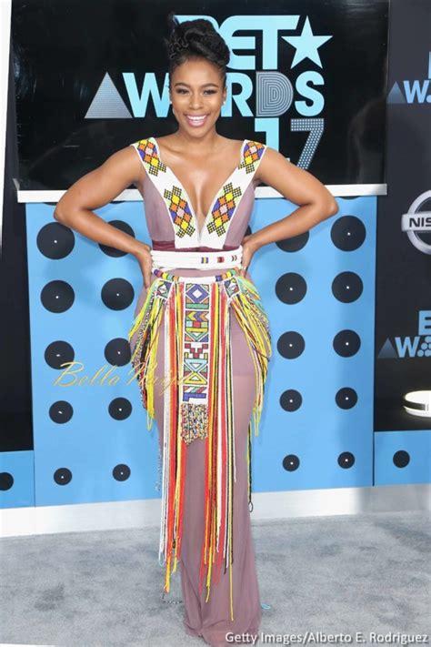 wore  bestladies bet awards  fashion icons tan