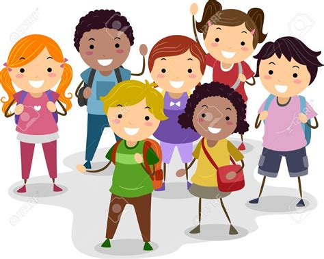 Group Of Children Clipart