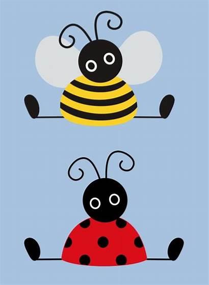 Bienen Basteln Biene Bee Ladybug Crafts Malen
