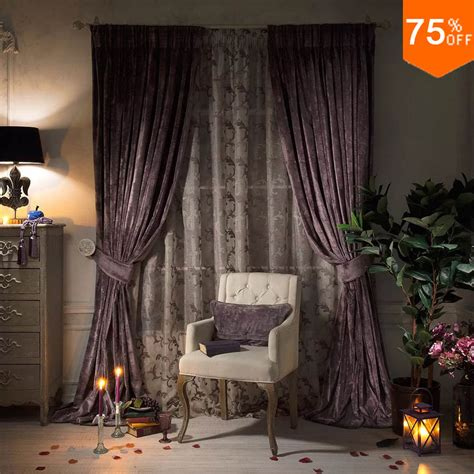 pencil pleat bedroom  curtain drapery heavy luxurious