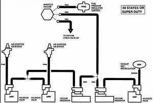 Can You Get Me A Vacuum Line Diagram For A 1997 Ford F250