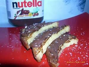 Pain Perdu Au Nutella : recette de pain perdu au nutella ~ Dode.kayakingforconservation.com Idées de Décoration