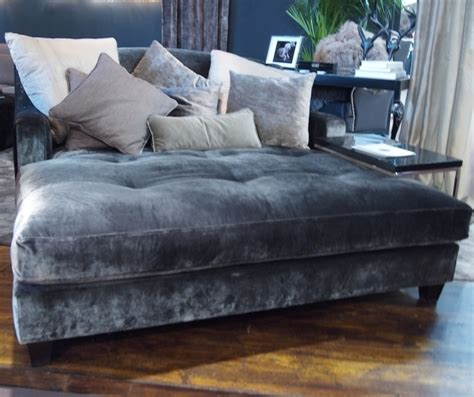 Oversized Chaise Lounge Sofa Contemporary Oversized Chaise