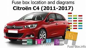 Fuse Box Location And Diagrams  Citroen C4  2011
