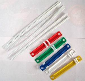 plastic paper binder With document fastener