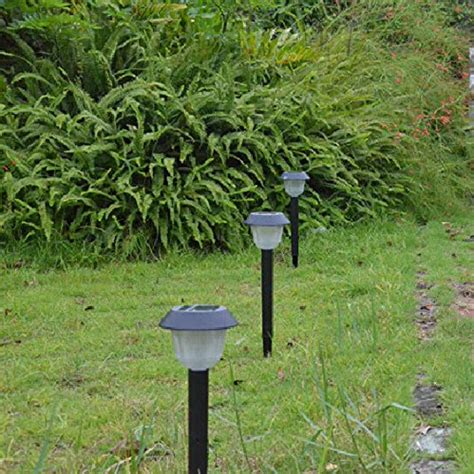 m t tech one package bright led solar path lights solar