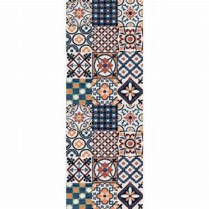Tapis Vinyl Carreaux De Ciment Pas Cher : tapis de couloir achat vente tapis de couloir pas cher ~ Preciouscoupons.com Idées de Décoration
