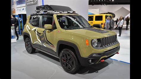 jeep renegade mopar  road concept  detroit auto