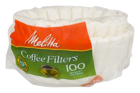 Each comes with a 5 year manufacturer warranty. Melitta White Paper Basket Coffee Filters 8-12 Cup Size | Hy-Vee Aisles Online Grocery Shopping