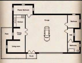 garage floor plans free small home with a big garage floor plan