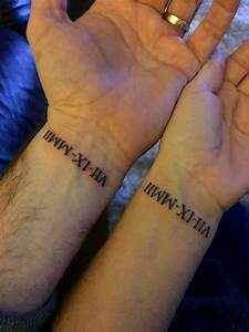 Roman Numeral Wrist Tattoo Designs, Ideas and Meaning ...