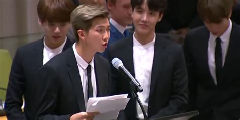 bts give  powerful speech   general assembly