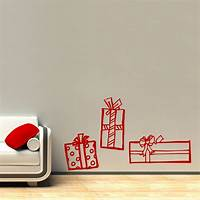 perfect christmas wall decals Christmas Presents Wall Decal Sticker