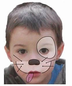Maquillage Enfant Facile : maquillage enfant chien tuto maquillage enfant loisirs ~ Melissatoandfro.com Idées de Décoration