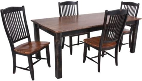canadel chlain table 4 chairs homemakers furniture