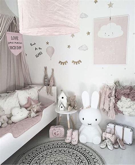 Dusky Pink Nursery With A Minimalist Vibe, Cloud Cushions