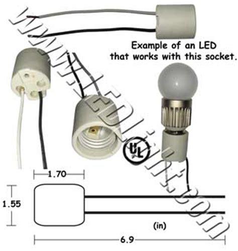 female socket  wires  led lights ledlight