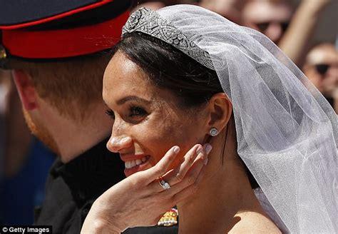 white gold emerald ring meghan markle wears dazzling bracelet that looks