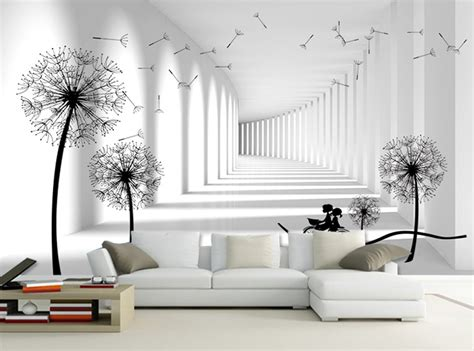 3d Wallpaper For Wall by Aliexpress Buy Grey White Brick Lover