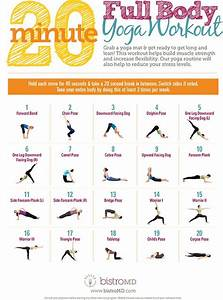 20 Minute Full Body Yoga Workout  Guide   Infographic