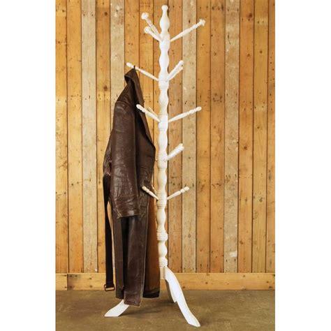 kapstok staand hout witte brocante kapstok staand model hout