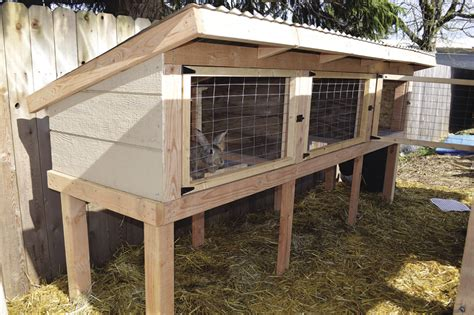 a rabbit hutch build a rabbit hutch and tractor