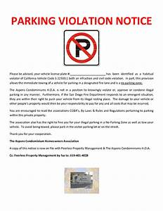 violation notice pictures to pin on pinterest pinsdaddy With no parking letter