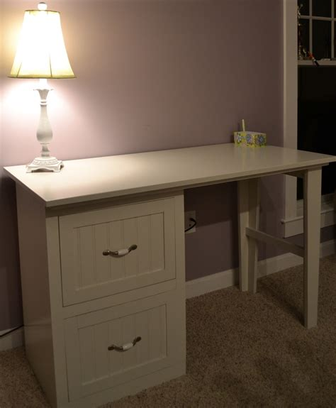 desk with file drawer wood working plan free farmhouse table plans metric