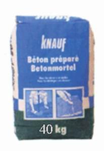 Beton 40 Kg : b ton pr par knauf 40 kg standard achat en ligne ou dans notre magasin ~ Frokenaadalensverden.com Haus und Dekorationen