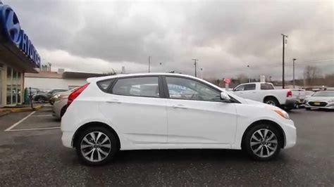 2015 Hyundai Accent   White   FU203811   Skagit County ...