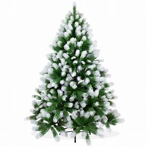 Künstlicher Weihnachtsbaum Geschmückt : k nstlicher weihnachtsbaum schnee 150cm spritzguss ~ Michelbontemps.com Haus und Dekorationen