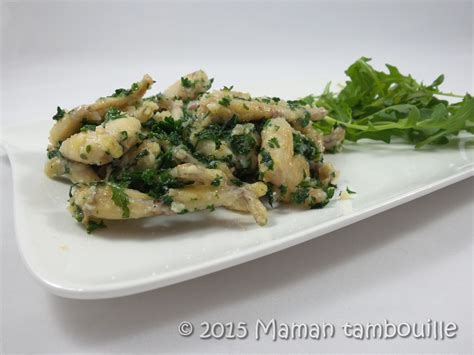 cuisiner les cuisses de grenouilles cuisses de grenouilles en persillade maman tambouille