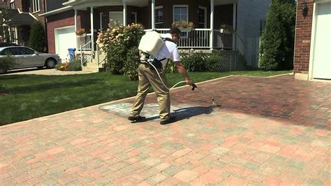 techniseal how to apply a water based look paver