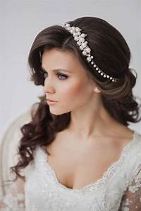 Most Inspiring And Easy Wedding Hairstyles With Charming