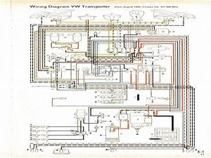 Electrical Wiring Diagram For A 1965 Vw Beetle