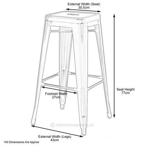 Restaurant Kitchen Measurements by Kitchen Stool Measurements Furniture In 2019 Outdoor